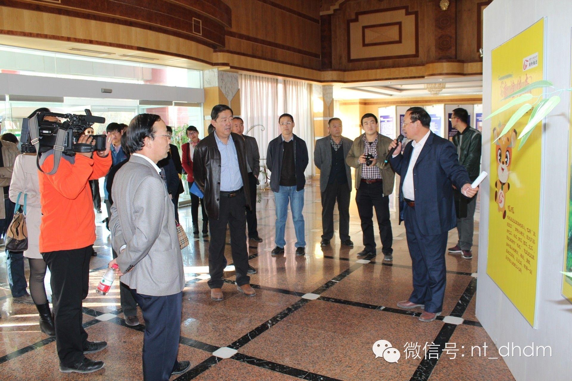 敦煌文化创意产业园总经理曹玉成又带领图片